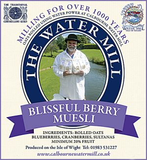 MUESLI blissful berry