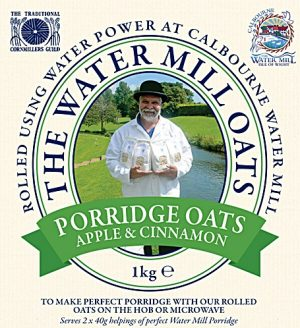 Porridge Oats with Apple & Cinnamon 1kg