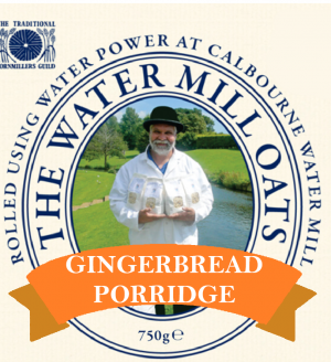 Gingerbread Porridge Label