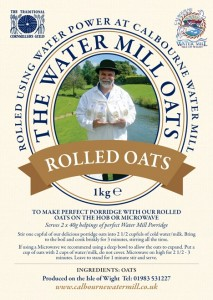 Rolled Oats From Calbourne Mill